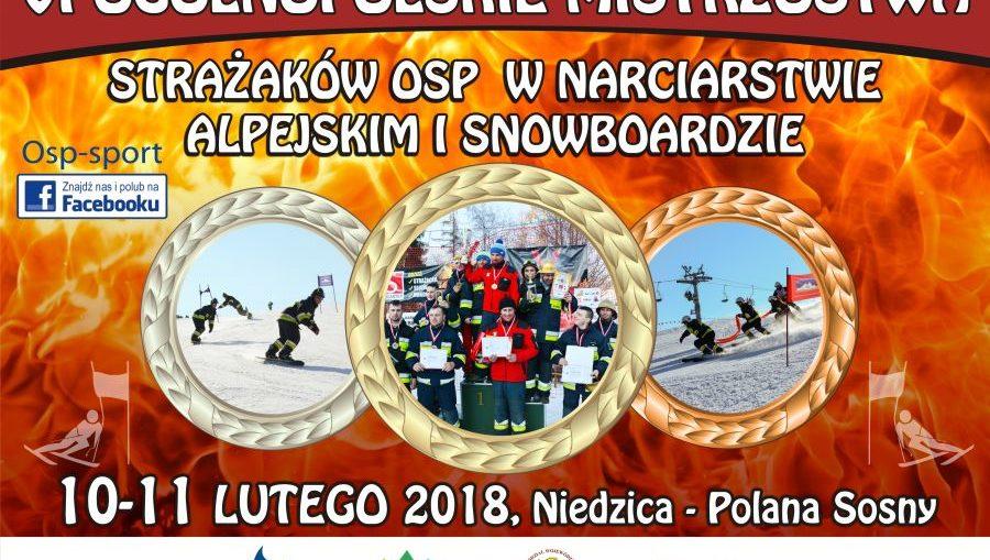 VI Ogólnopolskie Mistrzostwa Strażaków OSP w narciarstwie alpejskim i snowboardzie