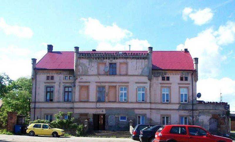 Lubin dawniej. Schloss- Dominium Altstadt