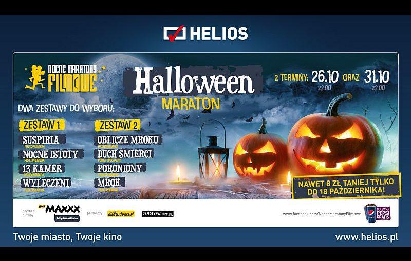 Nocne Maratony Halloween w kinie Helios