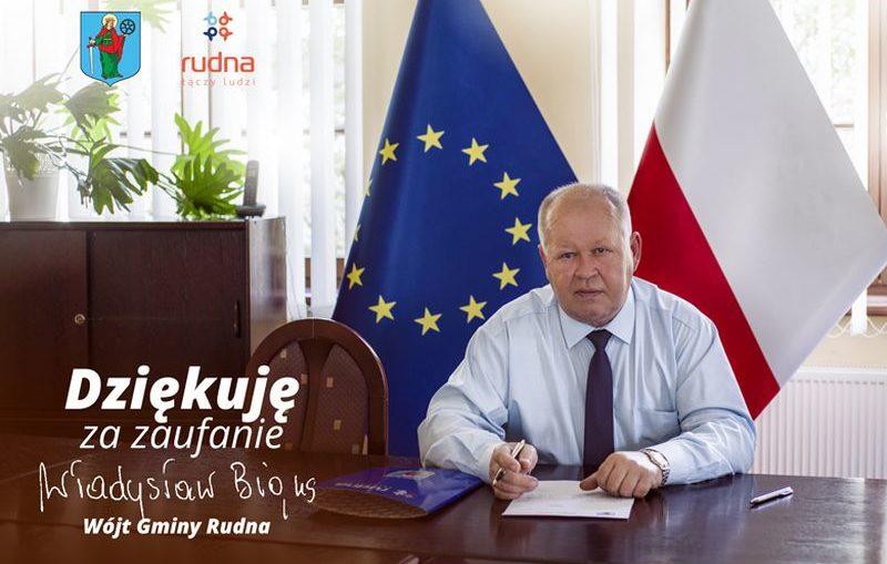 Władysław Bigus wygrał w Gminie Rudna
