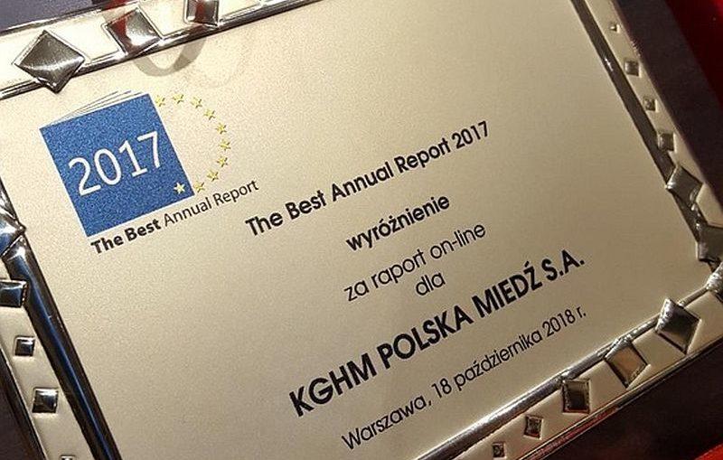 Najlepszy z najlepszych – Raport KGHM