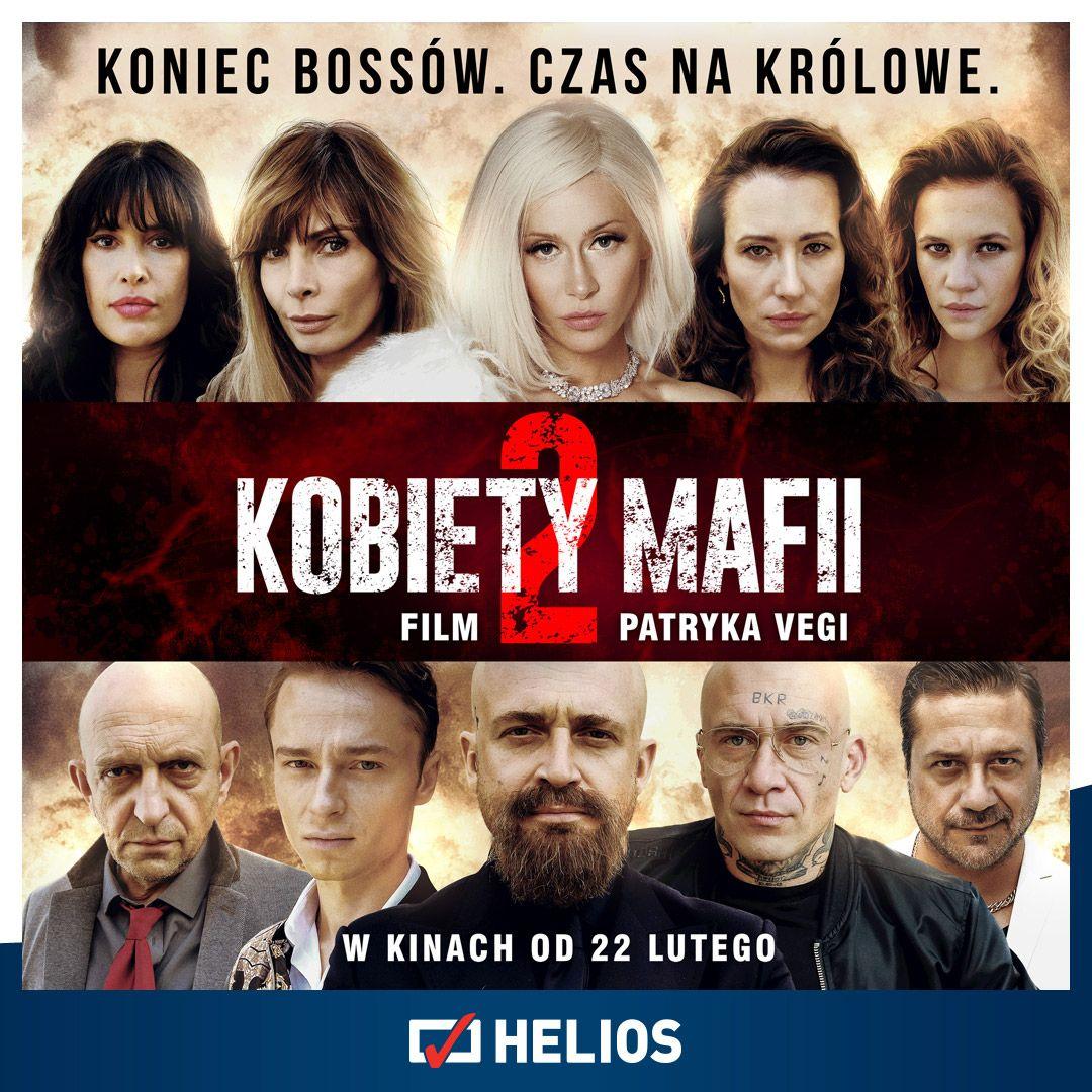 """""""Kobiety mafii 2"""" na ekranach kin Helios!"""