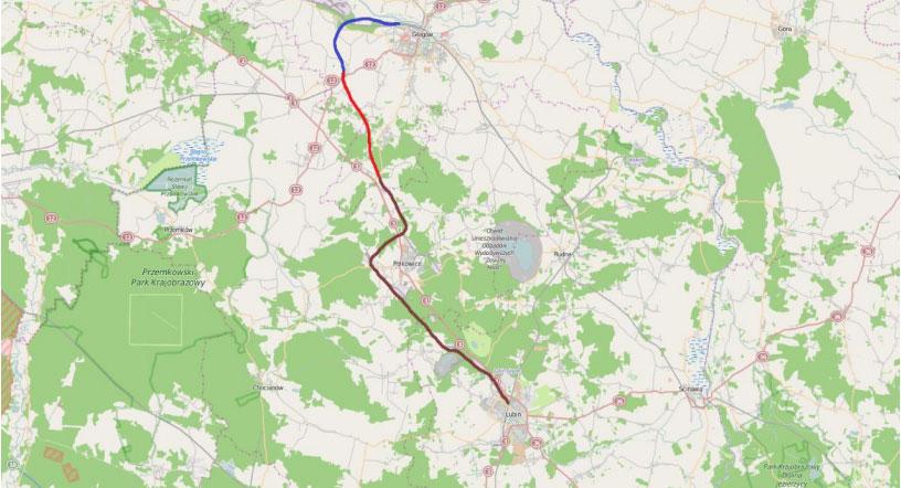 Będzie połączenie kolejowe z Lubina do Polkowic?
